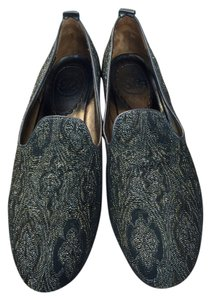 Johnston & Murphy Gold and brown Flats