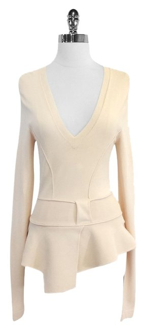 Preload https://item3.tradesy.com/images/givenchy-pale-pink-asymmetrical-peplum-blouse-size-8-m-4785832-0-0.jpg?width=400&height=650
