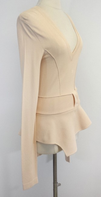 Givenchy Asymmetrical Peplum Top