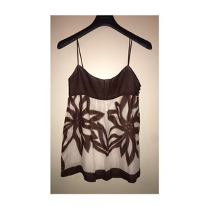 MILLY Top Brown