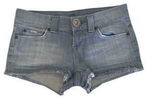 7 For All Mankind Denim Shorts-Light Wash