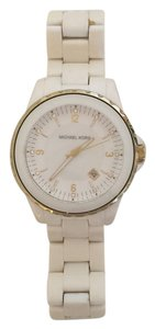 Michael Kors Michael Kors White & Gold watch