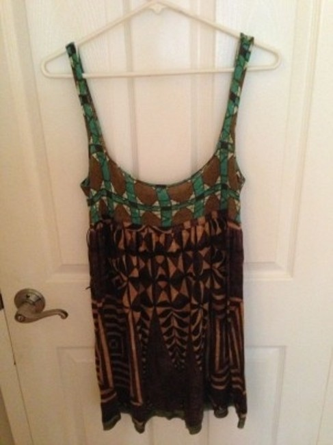 Free People short dress Tribal print on Tradesy