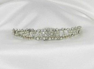 Fenaroli For Regalia M316 Silver Headpiece Tiara