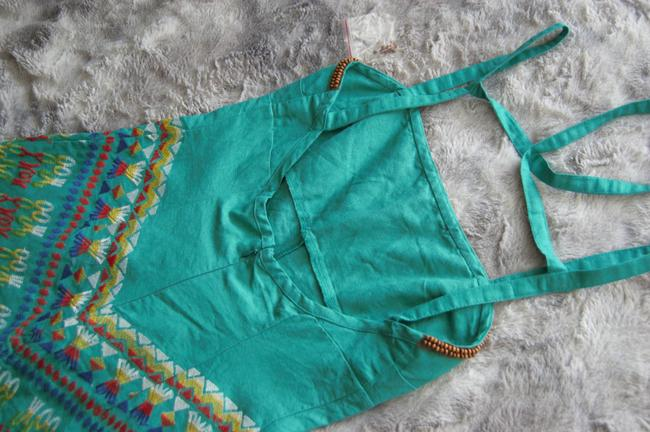 Free People short dress Embroidered Summer on Tradesy