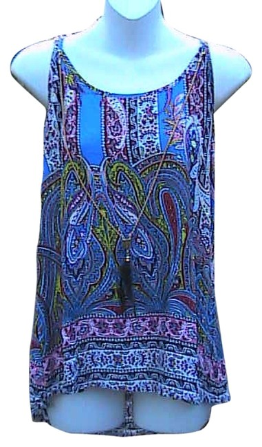 Preload https://item4.tradesy.com/images/printed-high-low-halter-top-size-8-m-4792243-0-0.jpg?width=400&height=650