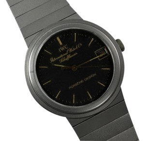 IWC IWC for Porsche Design Vintage Mens Midsize Watch - Titanium with 18K Gold Accents