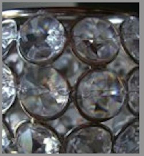 Silver Chrystal Holders Votive/Candle