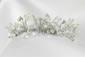 Fenaroli For Regalia T149 Silver Headpiece Tiara