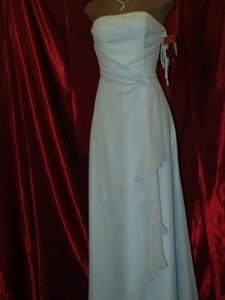 Jordan Fashions Light Blue Jordan Light Blue Size 0 New Dress # 803 Size 0 Xxs Strapless Baby Blue Light Blue Chiffon Prom Pageant Bridesmaids Dress