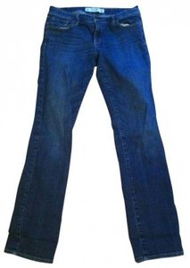 Abercrombie & Fitch Straight Leg Jeans-Dark Rinse