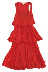 Maxi Dress by Anthropologie Puella Orange