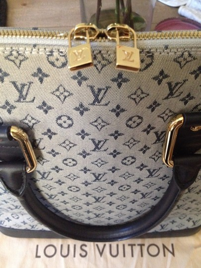 Louis Vuitton Tote in Blue/Blue