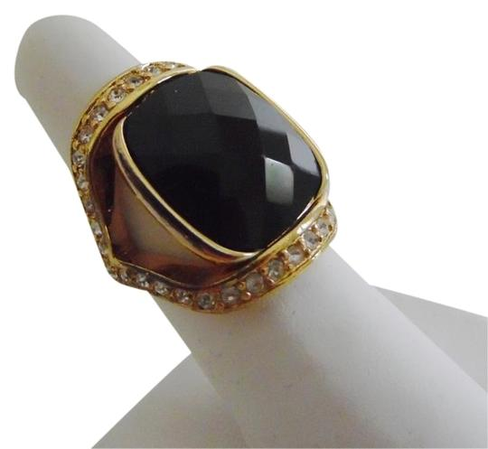 Preload https://item1.tradesy.com/images/joan-rivers-goldtone-black-lucite-faceted-ring-size-8-necklace-4810990-0-1.jpg?width=440&height=440