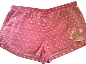 Disney Mini/Short Shorts Pink and White