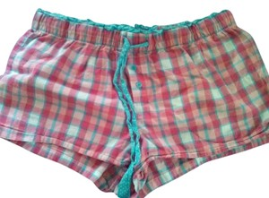 Faded Glory Mini/Short Shorts Pink and Blue