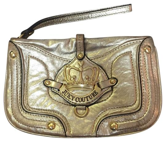 Juicy Couture Wristlet in Gold
