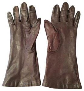 Authentic Italian Made Leather Gloves - (size - S/M)