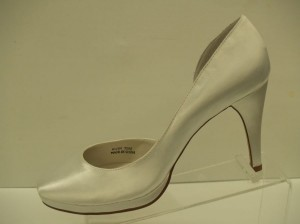 Special Occasions By Saugus Shoe Angelica 7301 White Size: 8 New!!! Platform Pumps White Satin Classic Wedding Shoes