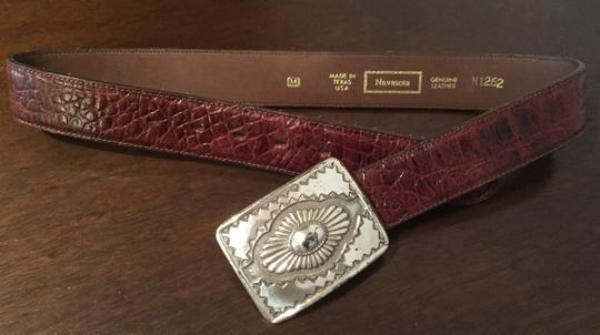 Navasota Cowgirl Authentic Brown Leather Belt