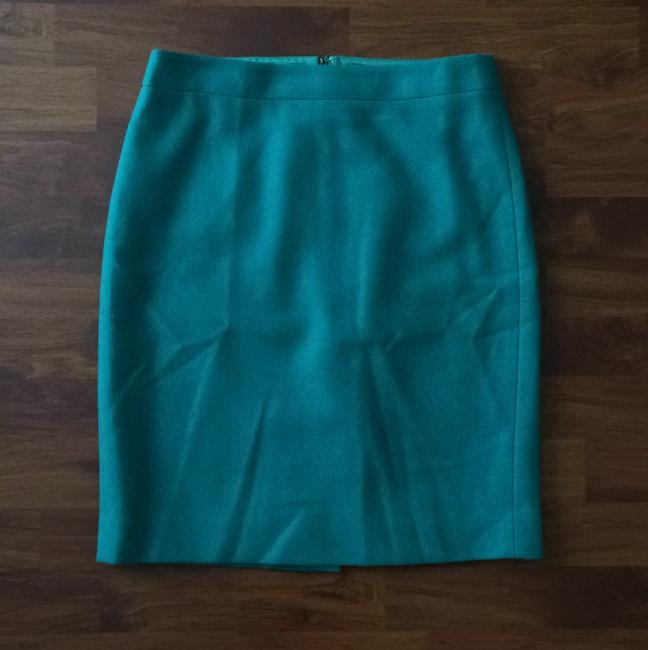 J.Crew Skirt Viridian Green