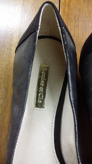 Louise etc Cie Pewter Flats