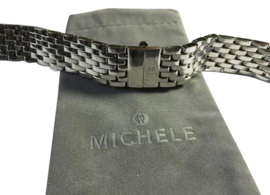 Michele Michele Womens 18mm CSX Stainless Steel Bracelet