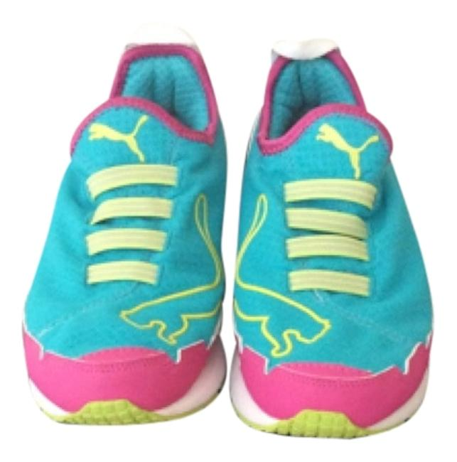 Item - Multi-color Faas 250 Evaporate Sneakers Size US 7 Regular (M, B)