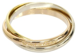 Cartier Cartier 18k Pink/Yellow/White Trinity Gold Ring US SIZE 4.75