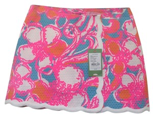Lilly Pulitzer Mini Skirt Shorely Blue Feeling Tanked