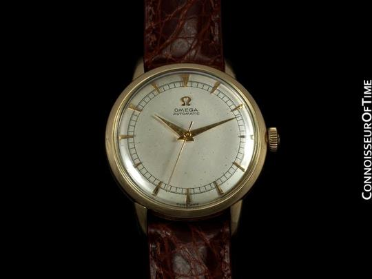 Omega 1950 Omega Vintage Mens Watch, Automatic, Waterproof - 14K Gold Filled