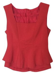 Zara Top Red