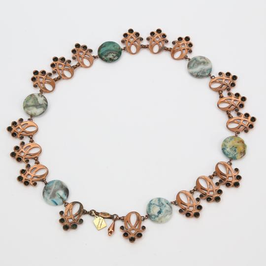 Other Striking Renoir Retro Copper Agate Necklace