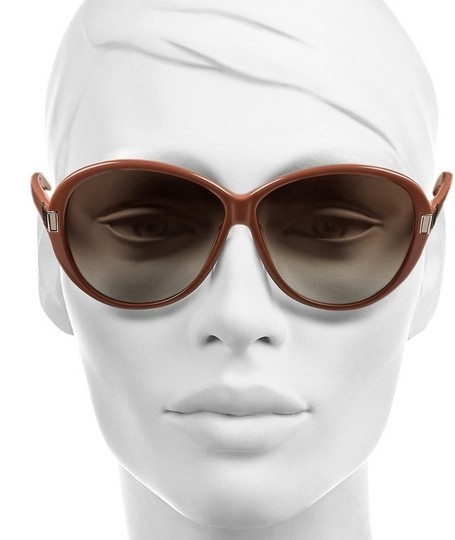 Chloé Authentic Brand New in Box Chloe Round Brown Sunglasses