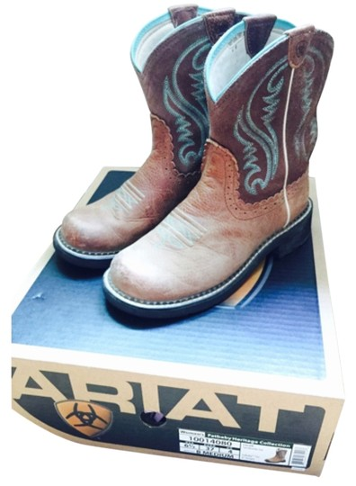 Ariat Brown/turquoise Boots