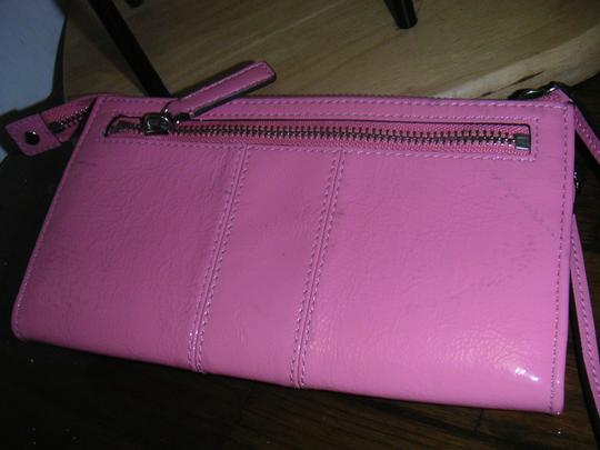 Coach New Pink Coach wallet with Defect