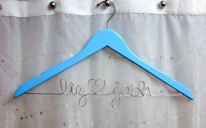 Personalized Custom Wedding Gown Hangers