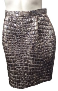 Christian Siriano Skirt Pewter