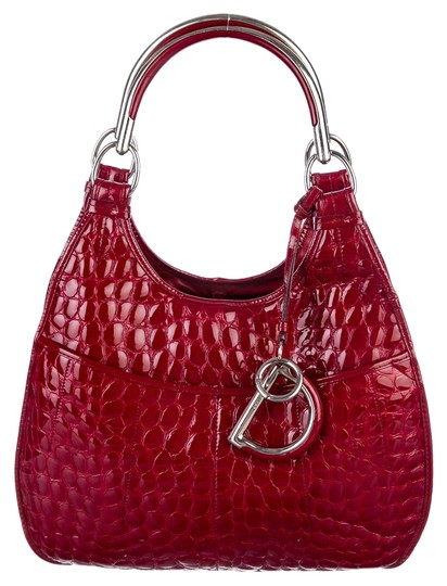 Preload https://item3.tradesy.com/images/dior-61-satchel-tote-handbag-purse-red-patent-embossed-crocodile-leather-hobo-bag-4815262-0-0.jpg?width=440&height=440