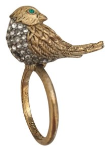 Juicy Couture Juicy Couture Gold and Crystal Bird Ring
