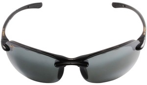 Maui Jim Maui Jim 413-02 Neutral Grey Hanalei Rimless Sunglasses