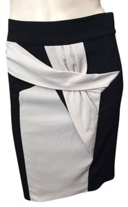 Helmut Lang Skirt Black and beige
