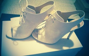 BHLDN White Andrew Kayla Lace Boots/Booties Size US 8 Regular (M, B)