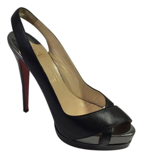 Preload https://item1.tradesy.com/images/christian-louboutin-black-very-croise-140-nappaspecchio-pumps-size-us-10-regular-m-b-4816870-0-3.jpg?width=440&height=440