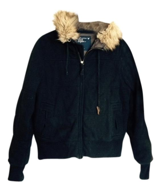 Preload https://item3.tradesy.com/images/american-eagle-outfitters-black-faux-fur-puffyski-coat-size-12-l-4816897-0-0.jpg?width=400&height=650