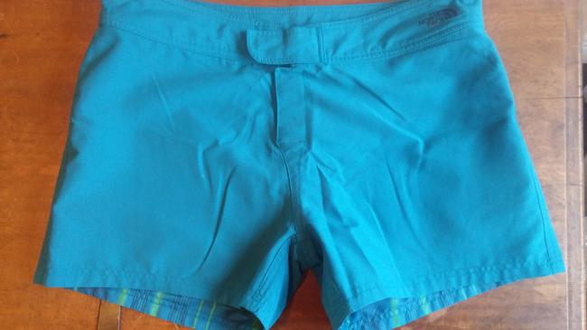 The North Face Board Shorts Teal and green