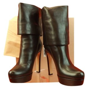 Miu Miu Chocolate Boots
