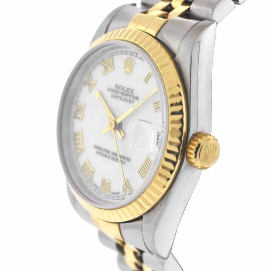 Rolex Rolex Midsize Datejust 68273 Stainless Steel Yellow Gold Watch
