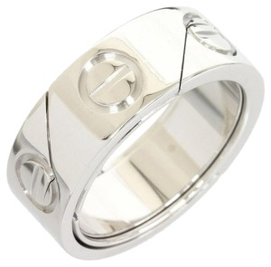 Cartier Cartier 18K White Gold Astro Love Ring/Pendant US Size 6 W/Cord