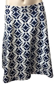 Diane von Furstenberg Skirt Blue and white